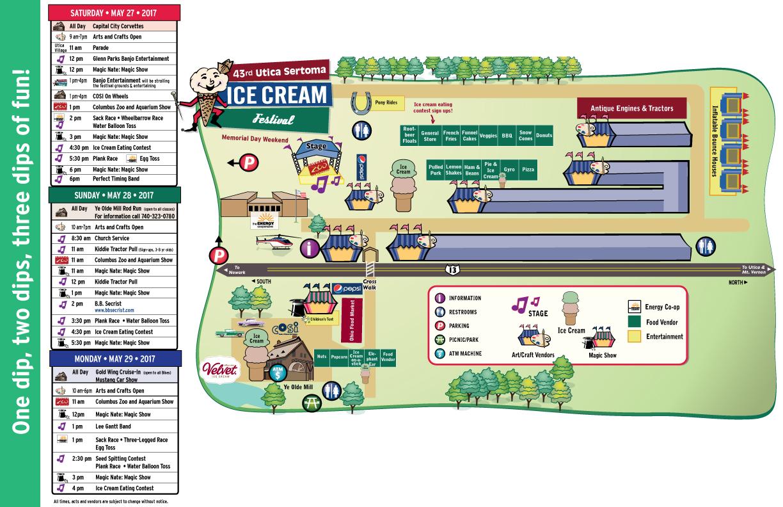 OH - Utica Sertoma Ice Cream Festival @ Velvet Ice Cream Shop Ye Olde Mill